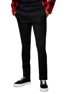Topman Slim Fit Organic Cotton Chinos