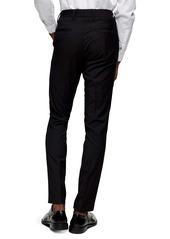 Topman Stretch Gabardine Skinny Fit Pants
