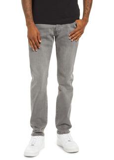 Topman Stretch Tapered Slim Fit Jeans