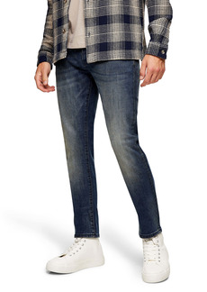 Topman Vintage Mid Wash Jeans