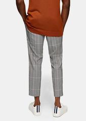 Topman Whyatt Check Trousers