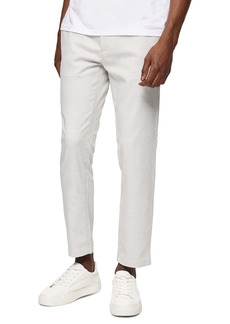Topman Whyatt Skinny Fit Plaid Drawstring Pants