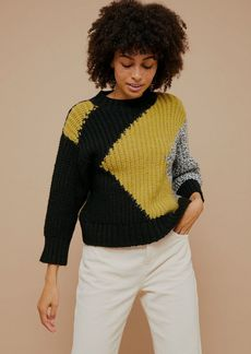Topshop Clothing /Sweaters Knits /Chunky Abstract Knitted Sweater