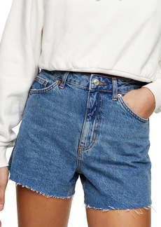 Topshop A-Line Mom Shorts