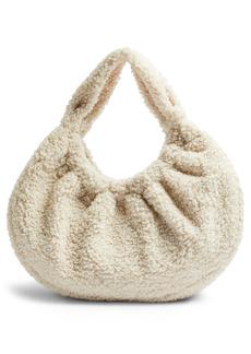 Topshop Borg Scrunchie Bag