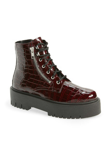 Topshop Bright Chunky Zip Boot (Women)