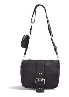 Topshop Buckled Crossbody Bag