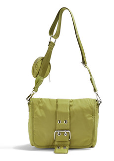 Topshop Buckled Crossbody Bag