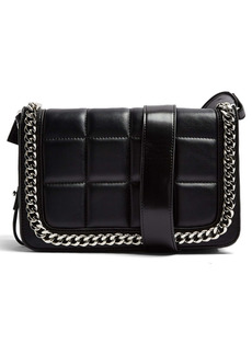 Topshop Cali Faux Leather Crossbody Bag
