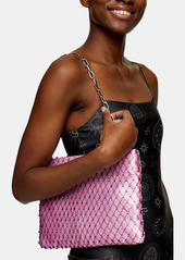 Topshop Chain Mail Convertible Clutch