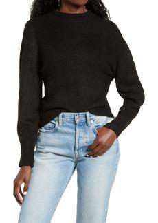 Topshop Chevron Crop Sweater (Regular & Petite)