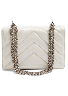 Topshop Chevron Quilted Crossbody Bag