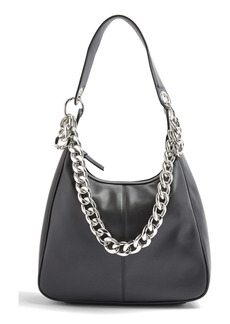 Topshop Chunk Chain Hobo Bag