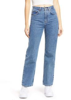 Topshop High Waist Runway Jeans