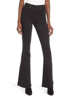 Topshop Jamie High Waist Flare Leg Jeans (Regular & Petite)