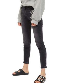 Topshop Jamie High Waist Ankle Skinny Jeans (Petite)