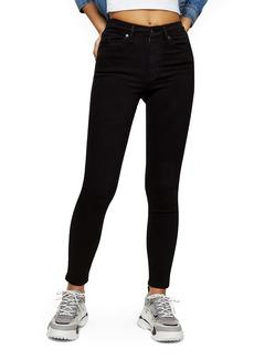 Topshop Jamie High Waist Black Jeans (Regular, Petite & Long)