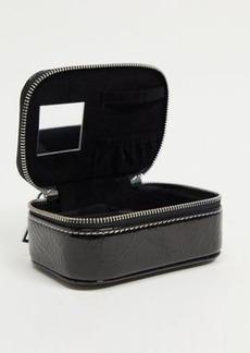 Topshop jewelry box in black