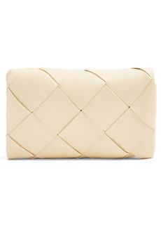Topshop Large Woven Clutch