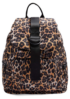 Topshop Leopard Print Backpack