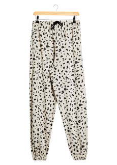 Topshop Leopard Print Joggers
