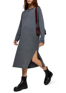 Topshop Long Sleeve Maternity T-Shirt Dress