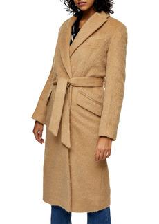 Topshop Manhattan Belted Coat (Regular & Petite)