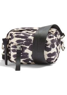 Topshop Micro Zip Sport Crossbody Bag
