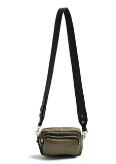 Topshop Mini Leather Crossbody Camera Bag