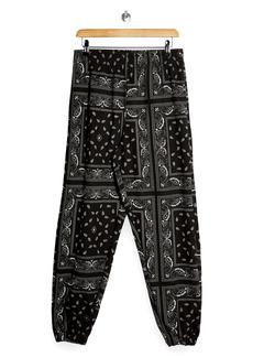 Topshop Paisley Jogger Pants
