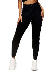 Topshop Quilted Knit Joggers