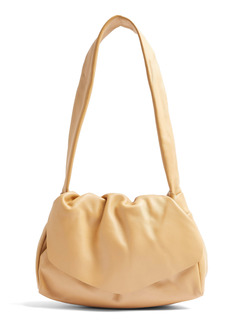 Topshop Ruched Leather Bag