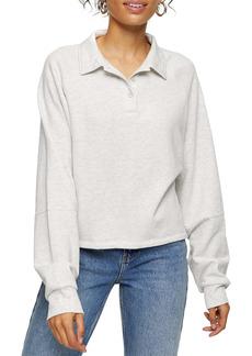 Topshop Rugby Lounge Sweatshirt
