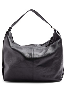 Topshop Slouchy Faux Leather Hobo Bag