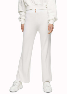 Topshop Stitchy Ribbed Trousers