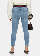 Topshop Stone Ankle Skinny Jeans (Petite)