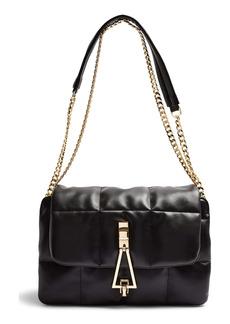 Topshop Triangle Quilted Shoulder Bag