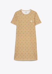 Tory Burch Basket-Weave T-Shirt Dress