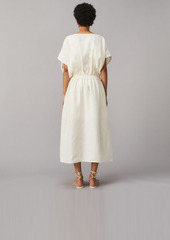 Tory Burch Drop-Waist Linen Dress