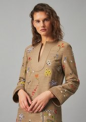 Tory Burch Embroidered Caftan