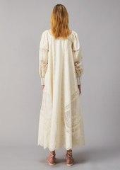 Tory Burch Embroidered Poplin Dress