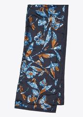 Tory Burch Floral Embellished Oblong Blanket Scarf