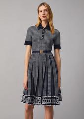 Tory Burch Gemini Link Jacquard Dress