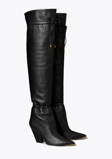 Tory Burch Lila Over-the-Knee Scrunch Boot