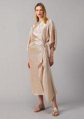 Tory Burch Lurex Sarong Skirt