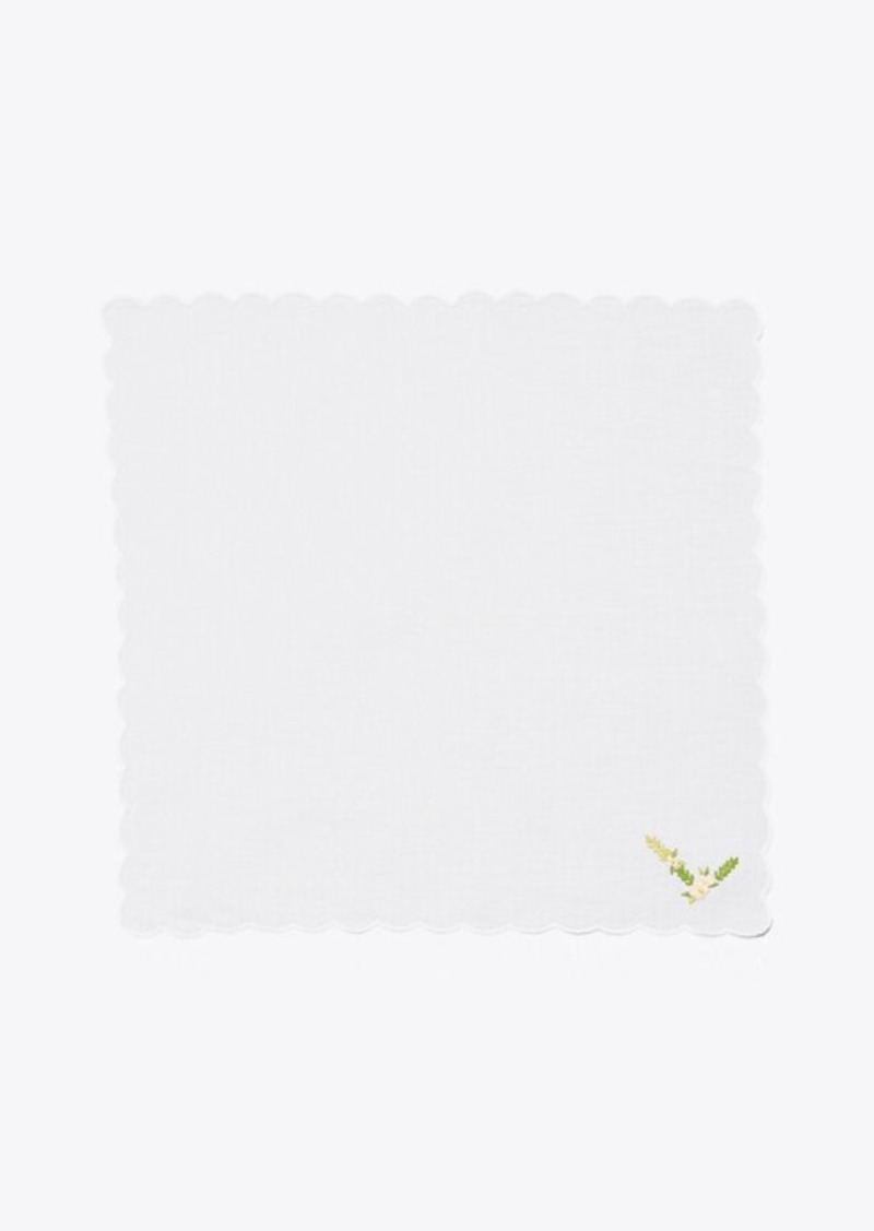 Tory Burch Monogram Handkerchief, Set Of 4