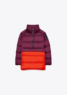 Tory Burch Packable Performance Satin Down Jacket