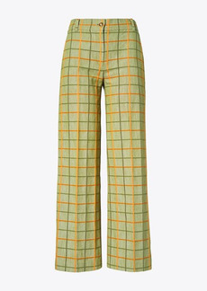 Tory Burch Plaid Pant