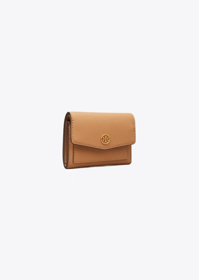 Tory Burch Robinson Mini Flap Wallet