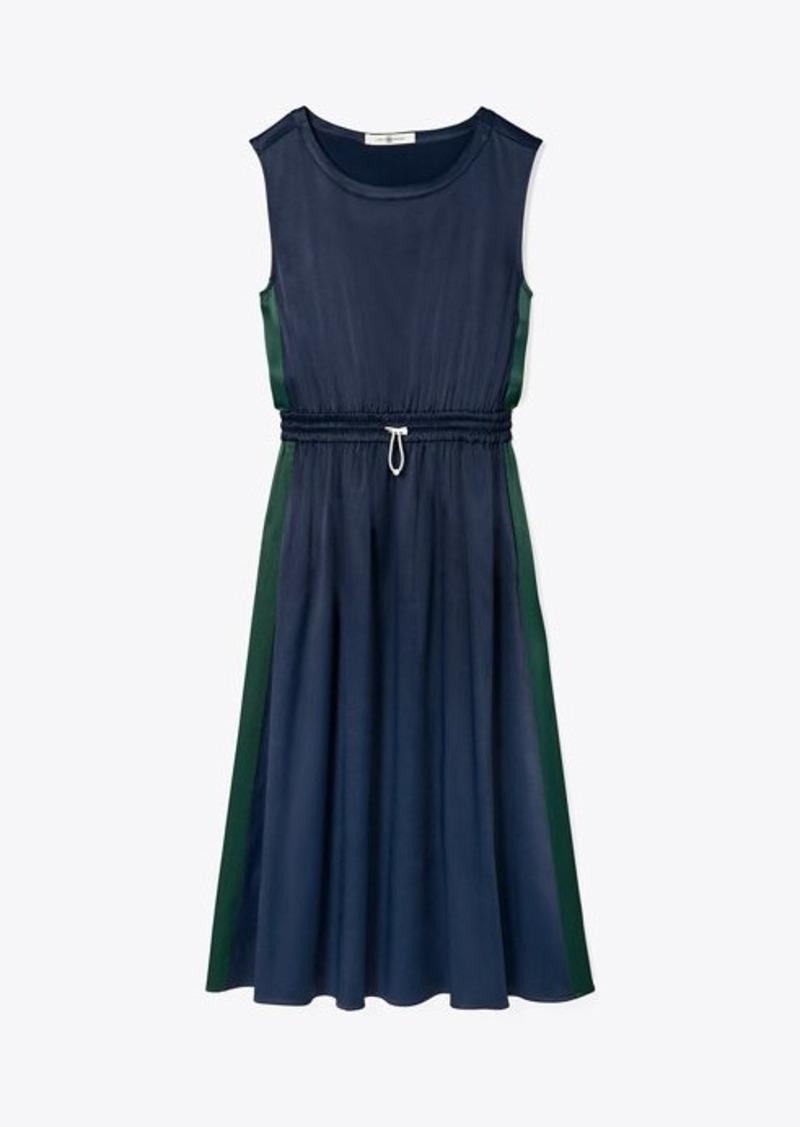 Tory Burch Satin Track Dress